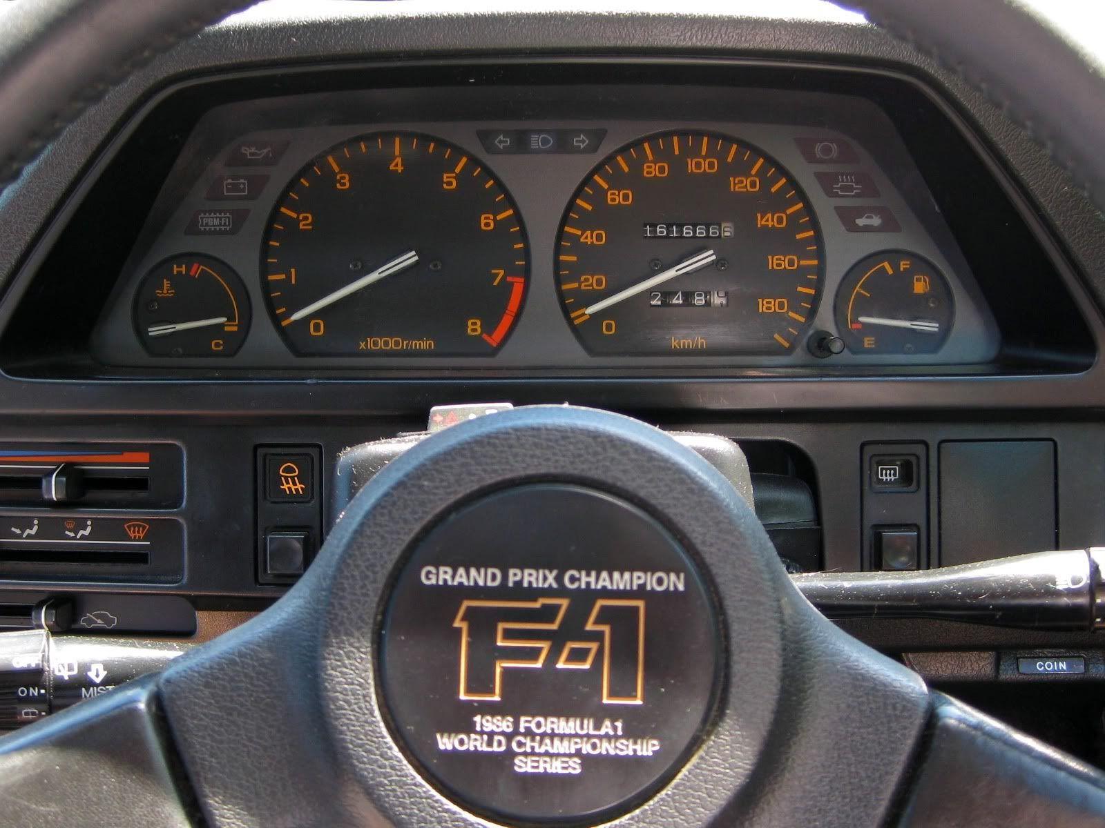 1986 Honda Civic Si (E AT) F1 Edition