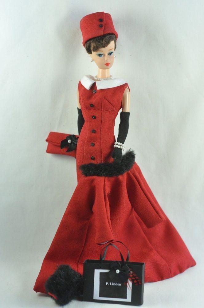 "Handmade Vintage Barbie/Silkstone Fashion by P. Linden 14 pc. ""Ruby Tuesday"" #FITSVINTAGEREPRODUCTIONSANDSILKSTONEBARBIE"