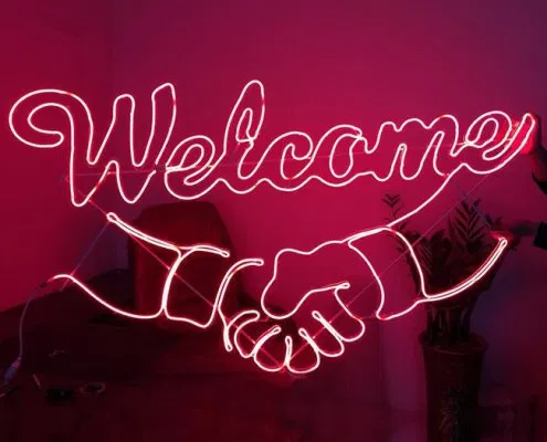 Welcome To Neon Sign Welcome Clipart Welcome The Neon Lights Png Transparent Clipart Image And Psd File For Free Download Neon Signs Geometric Pattern Background Neon