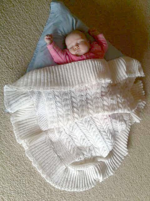 Heritage shawl I knitted for Penny | busy hands | Pinterest
