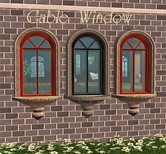 Mod The Sims - Classical Windows with Stone Surrounds