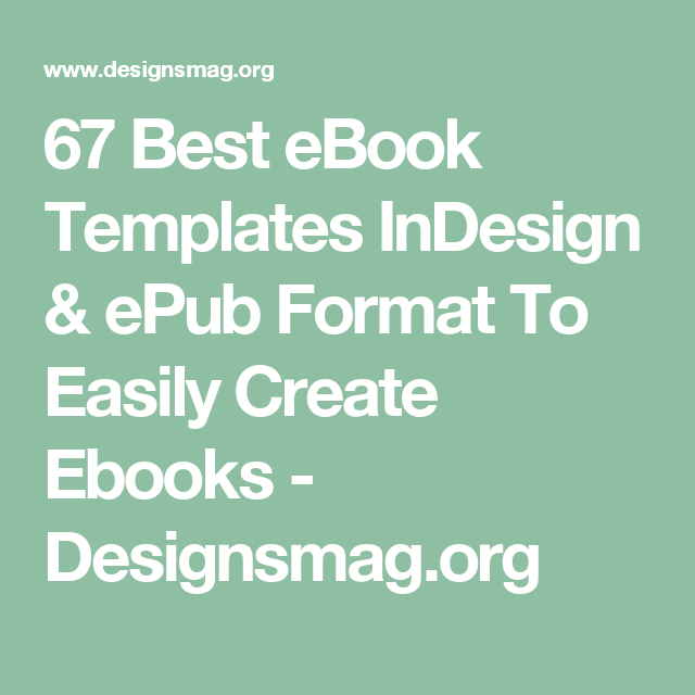 67 best ebook templates indesign epub format to easily create 67 best ebook templates indesign epub format to easily create ebooks designsmag fandeluxe Choice Image