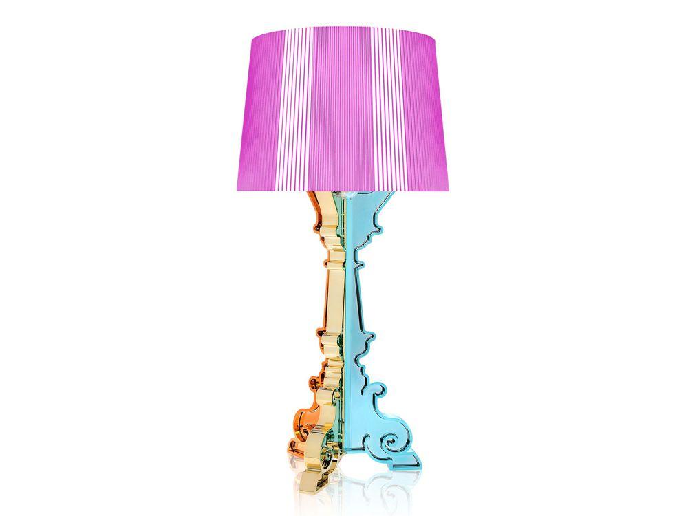 Bourgie Metallic Table Lamp Luxury Lighting Metal