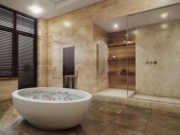 16 Modelos De Banos De Lujo Incluyen Jacuzzi Bathroom Design
