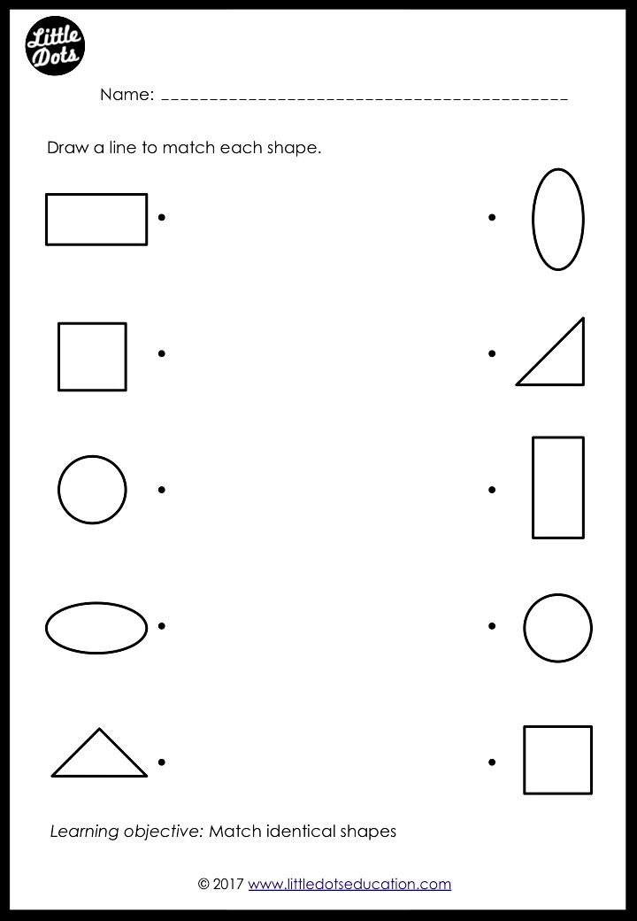 Identifying And Counting Shape Sides With Images Math Printables