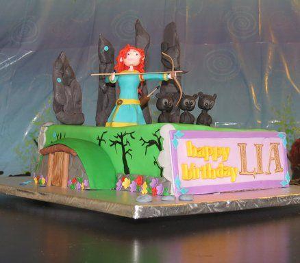 brave cake decoration - Buscar con Google