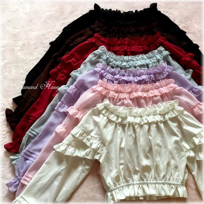 【Hello Summer Long Sleeves Blouse (only 19.99USD)】 Are Ready In Stock Now, It Means The Process Time for the Blouse Needs Only 6-8 Work Days, Then Shipping