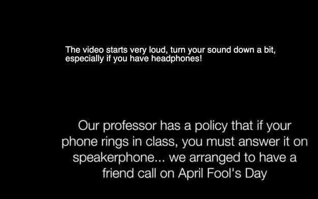 This College Student Pulled Off The April Fools' Prank To End All April Fools' Pranks On Her Professor