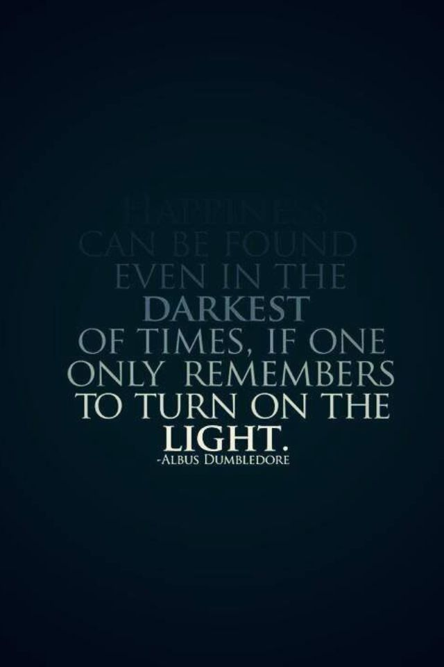 Harry Potter A Little Light Goes A Long Way Harry Potter Quotes