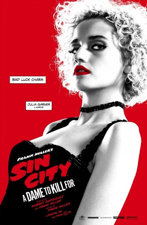 Sin City 2 A Dame To Kill For Classic Movie Art Silk Poster Canvas Print