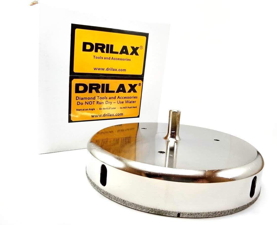 Drilax 6 Inch Diamond Hole Saw Drill Bit Tiles Glass Fish Tanks Marble Granite Countertop Ceramic P Granite Countertops Bathroom Installation Countertops