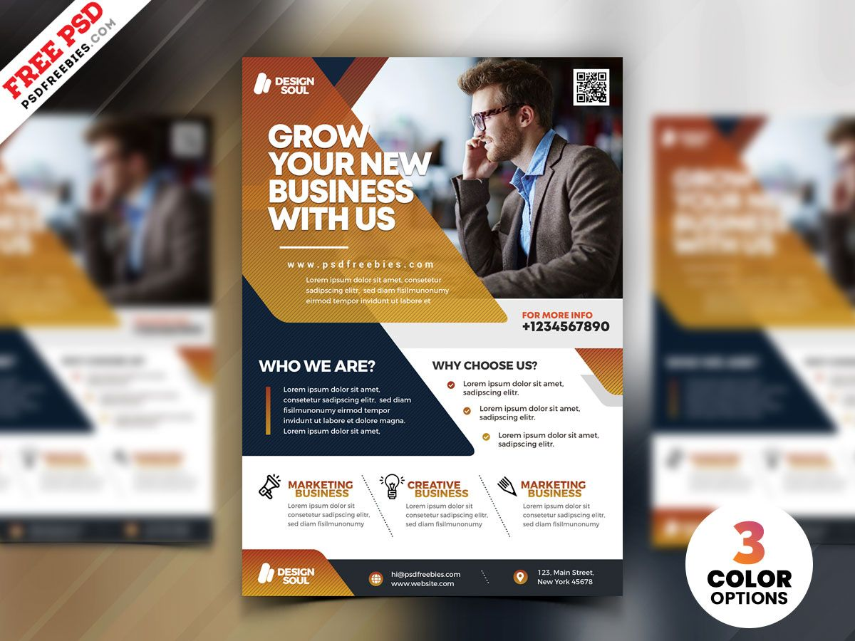 This Creative Business Flyer Design Psd Is Perfect For Small