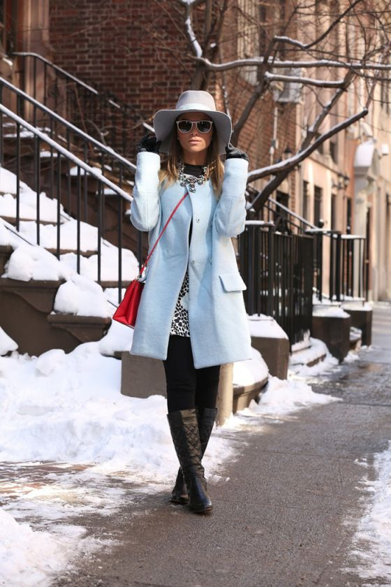 blue baby candy coat
