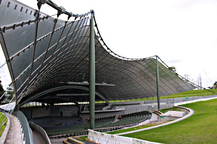 Building: Sidney Myer Music Bowl, Melbourne Architect: Barry Patten I Know,  The