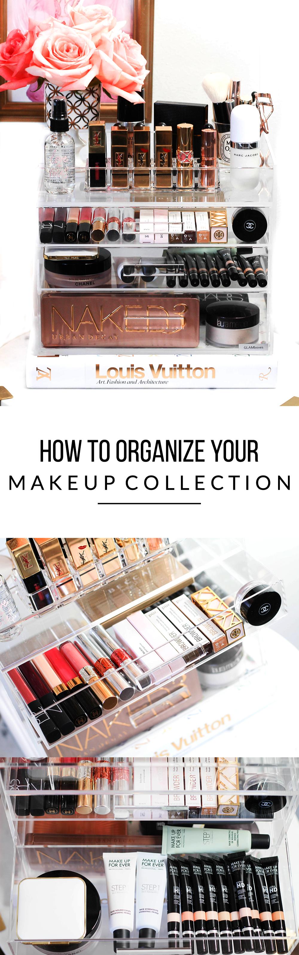 How To Organize Your Makeup Collection - Makeup Organization -