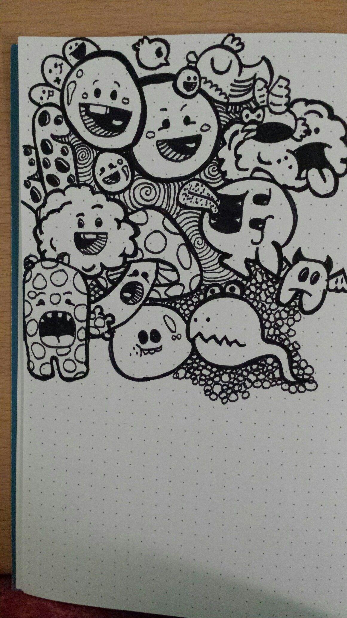 Pencil Drawing Doodles