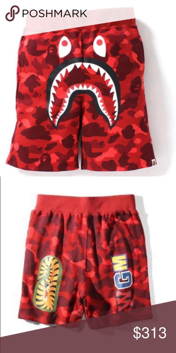 3667aeeed57e BAPE Gradation Camo Sweat Shorts Sz Mens Large NEW Purchased directly from  us.bape.com