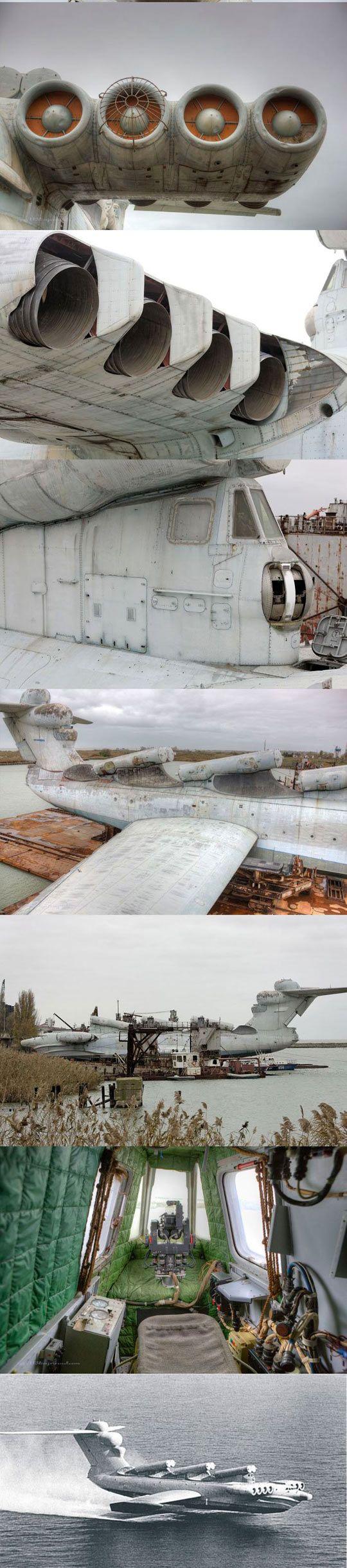 Ekranoplan casspian the russian tank ship plane not exactly a plane but still