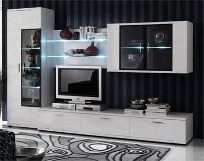 Meuble Tv En Bois Pour Living Room Contemporain Ou Design Pas Cher Nappali