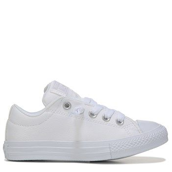 converse leather shoes kids