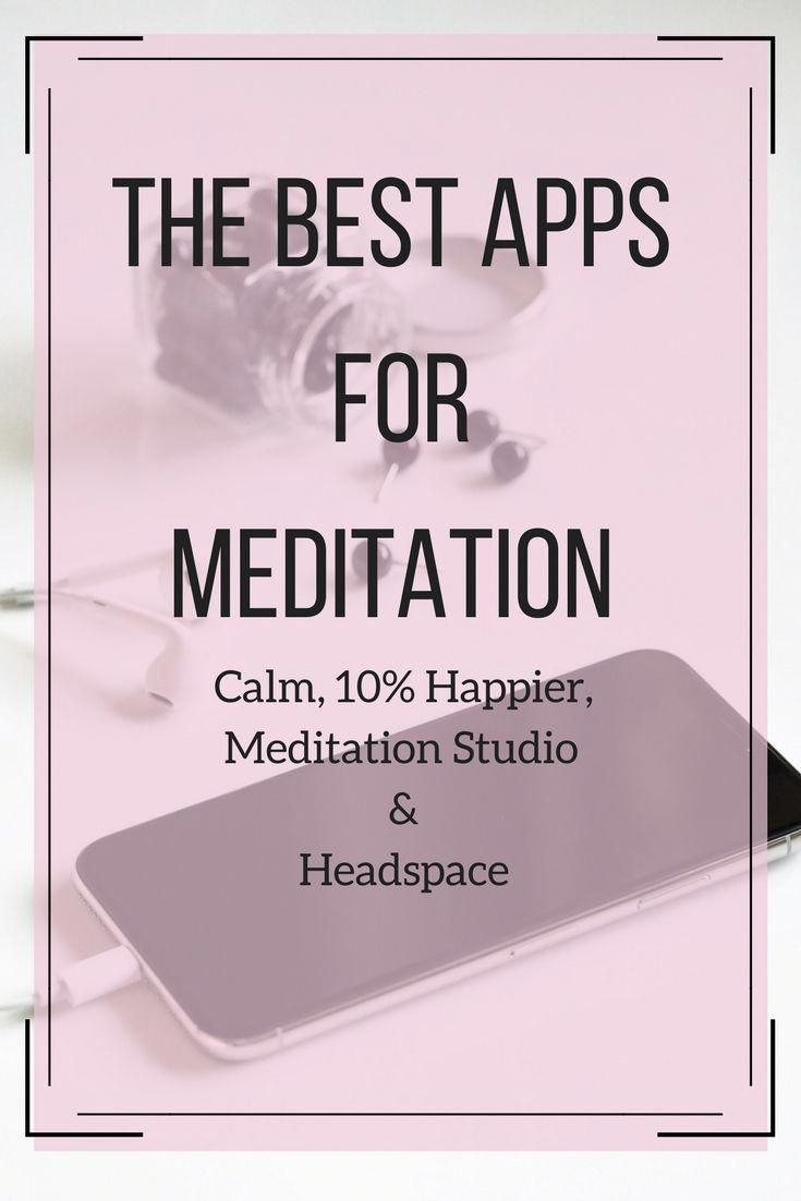 Meditation Apps Review projets to try Meditation apps