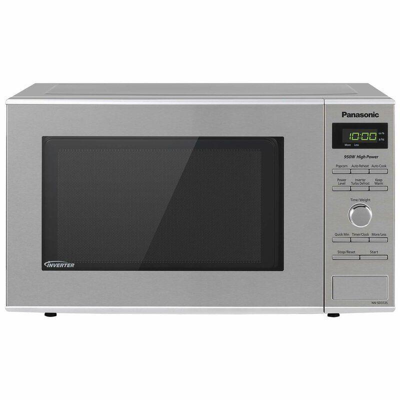 Panasonic 19 0 8 Cu Ft Countertop Microwave Reviews Wayfair