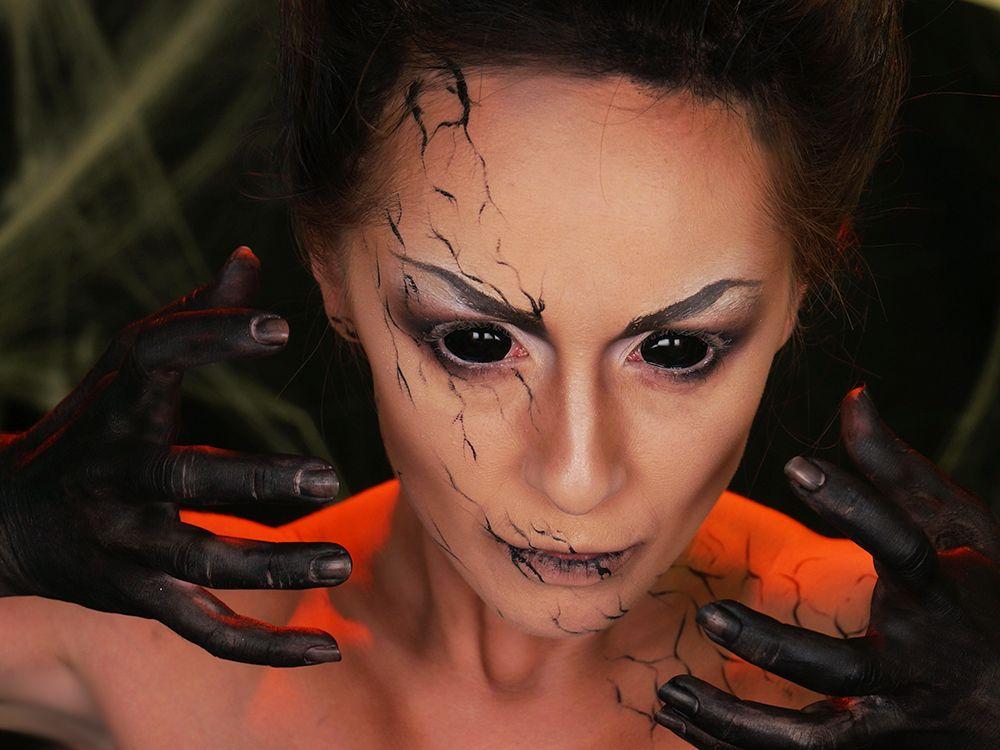 Super Les 25 meilleures idées de la catégorie Maquillage démon sur  CJ32