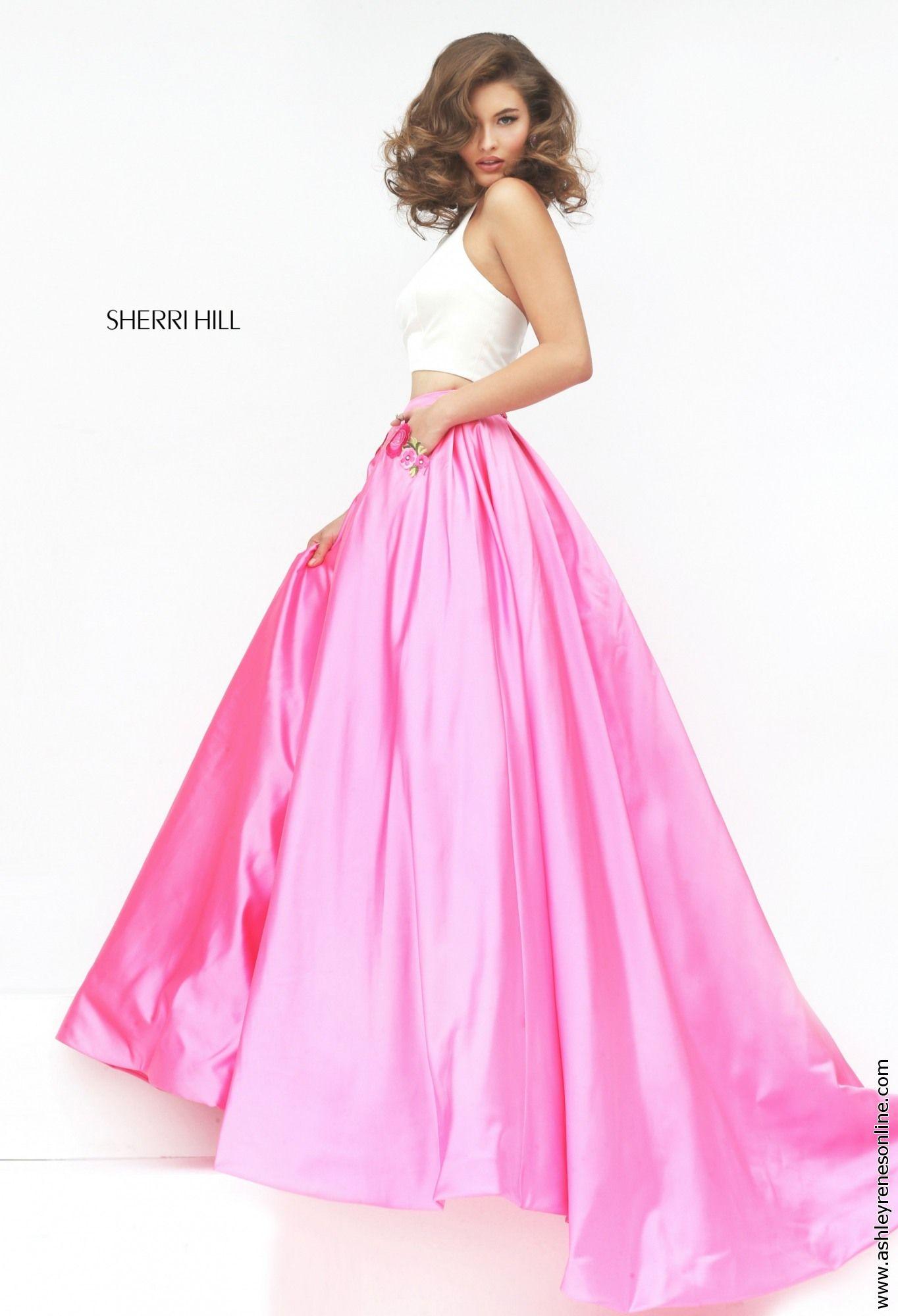 Famoso Prom Red Hill Vestido De Sherri Bandera - Colección de ...