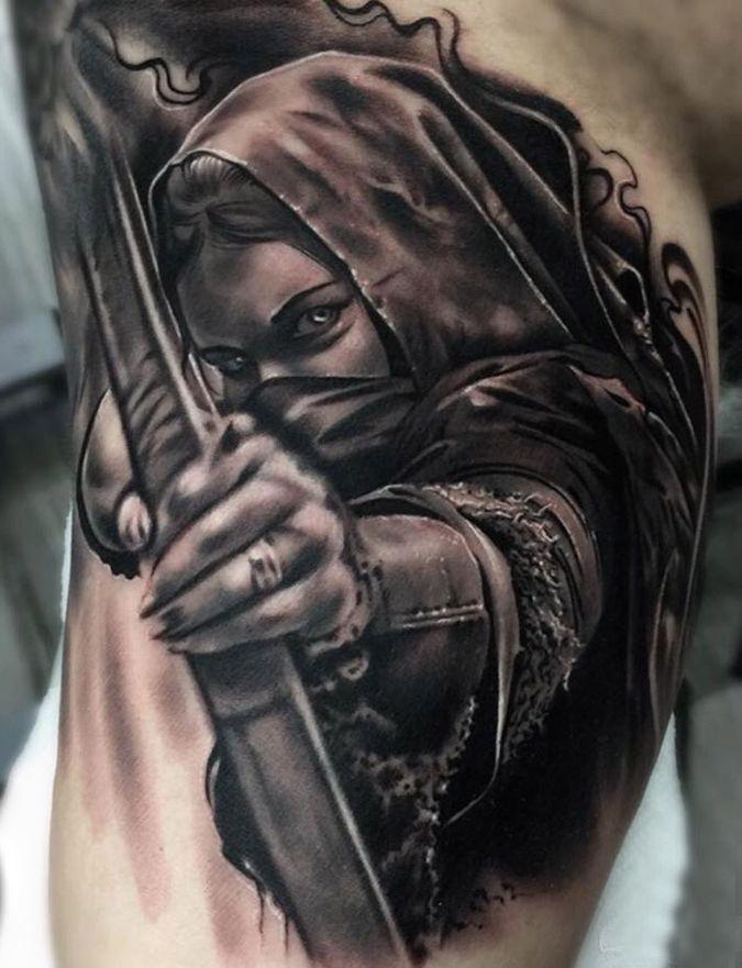 tattoo warrior tattoos pinterest tattoos warriors