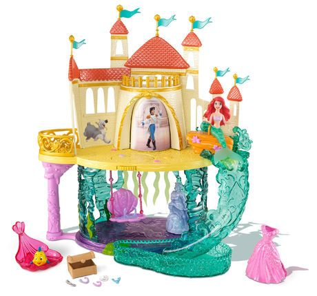 Disney Princess The Little Mermaid Castle | Walmart.ca