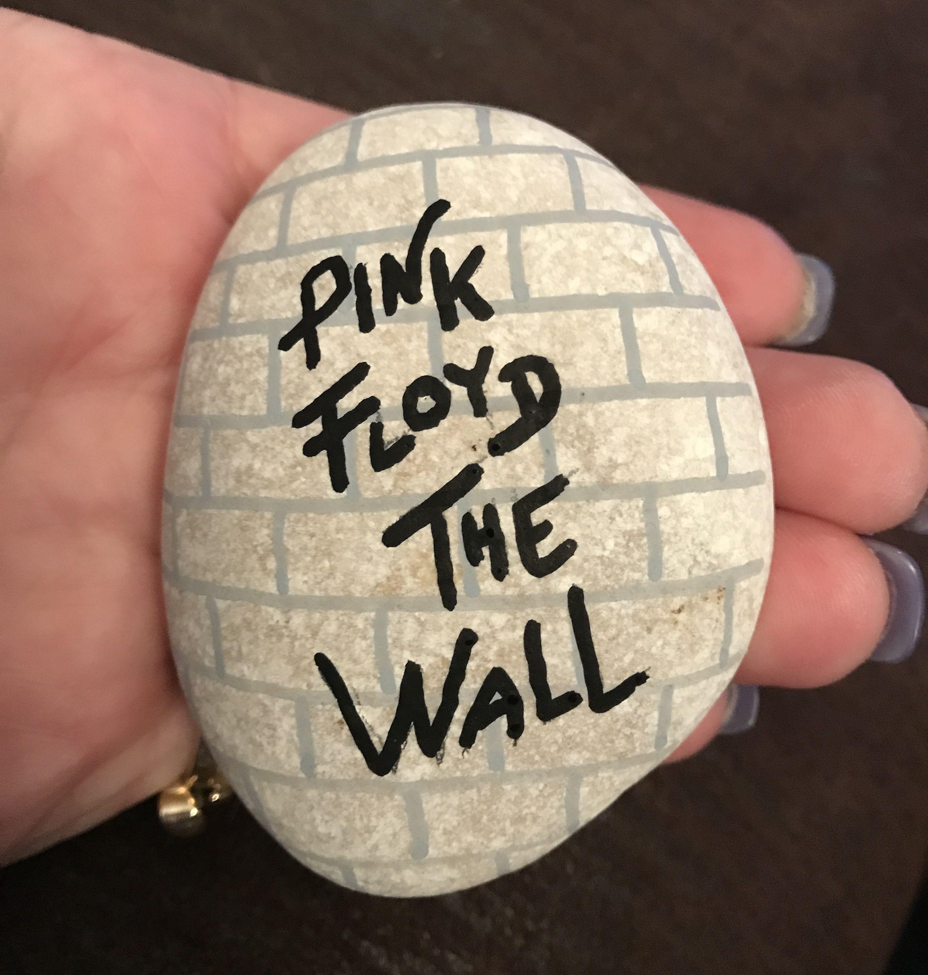 Pink Floyd Rock Rock Painting Ideas Easy Rock Painting Art Painted Rocks