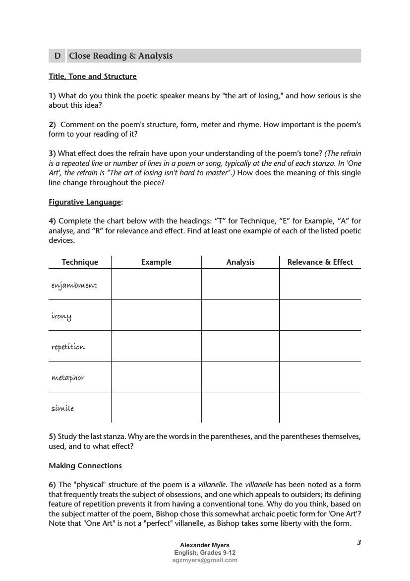 Igcse Poetry 2018 2019 Teaching Revision Bundle Volume 1 Part 5 All Poems Teaching Resources Reading Analysis Essay Questions Poems [ 1170 x 827 Pixel ]