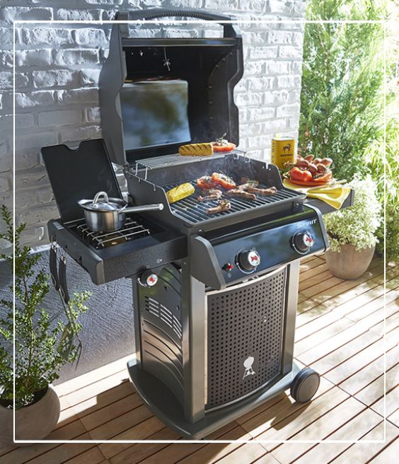 barbecue gaz weber spirit classic e 220 terrasses balcons pinterest barbecues. Black Bedroom Furniture Sets. Home Design Ideas