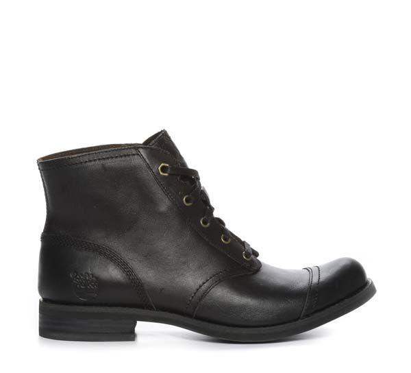 Nilson Shoes Kängor och Boots SAVIN HILL LACE Skinn Svart