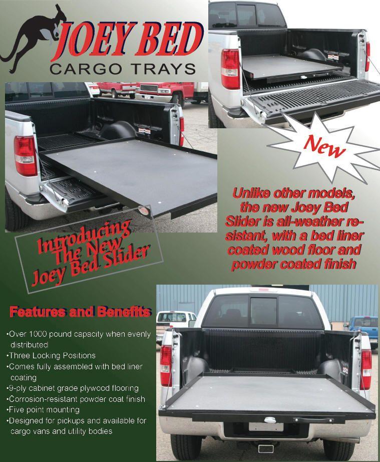 Truck Bed Slide Plans Truck bed slide, Bed with slide