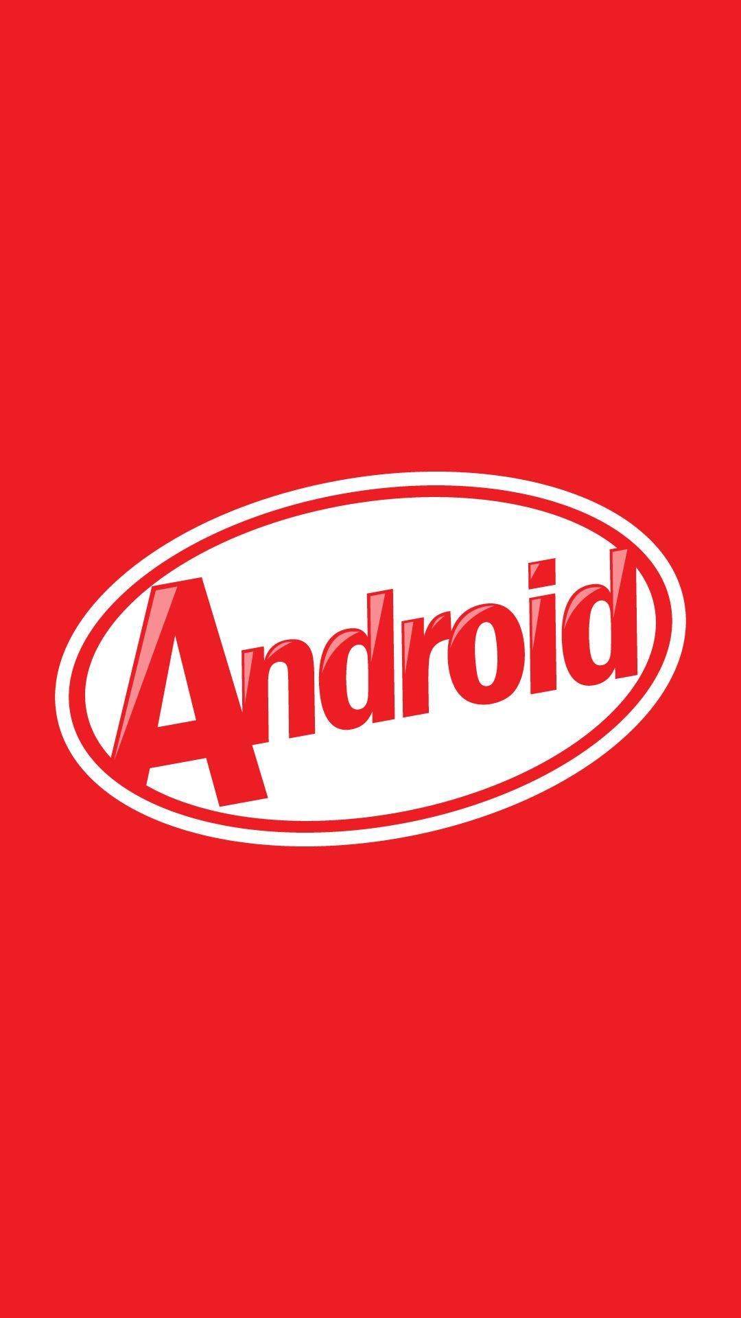 Android KitKat 4.4.2 Logo #wallpaper