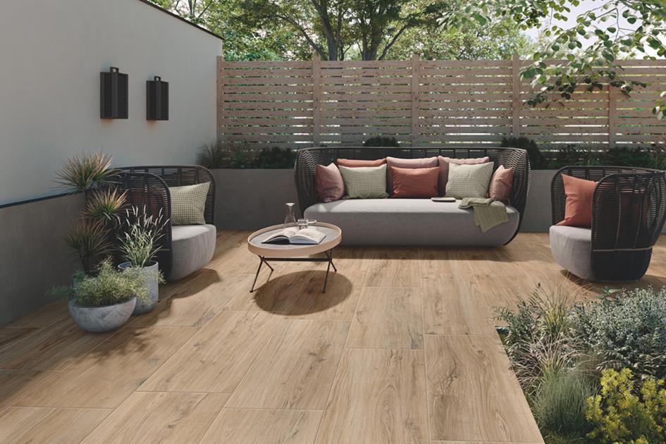 Für alle, die sich einen wohnlichen Look von Holz auf der Terrasse w