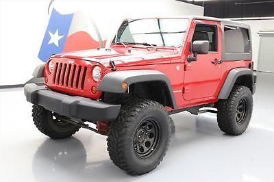 2009 Jeep Wrangler X Sport Utility 2 Door 2009 Jeep Wrangler Jeep Wrangler X Jeep Wrangler
