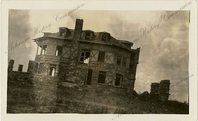 Abandoned Hotel Wilhelmina On Rich Mountain Na Ar Summer 1937 Arkansas History