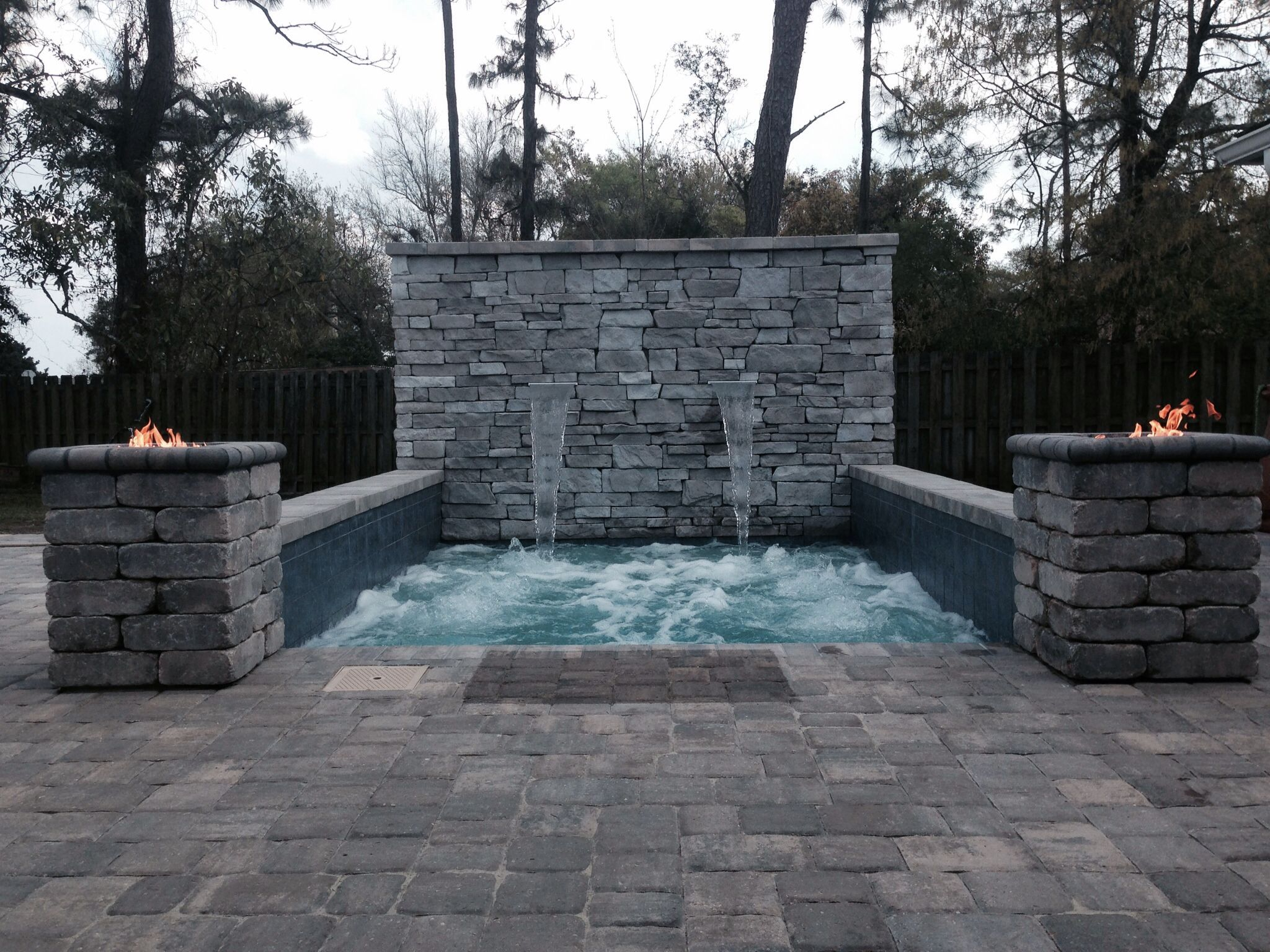 cocktail pool built by my ty design jacksonville fl florida