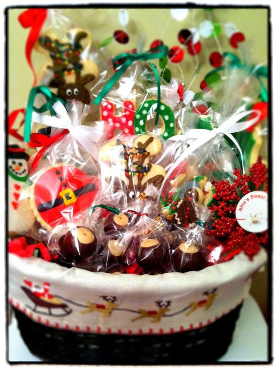christmas cookie gift basket - Christmas Cookie Gift Ideas