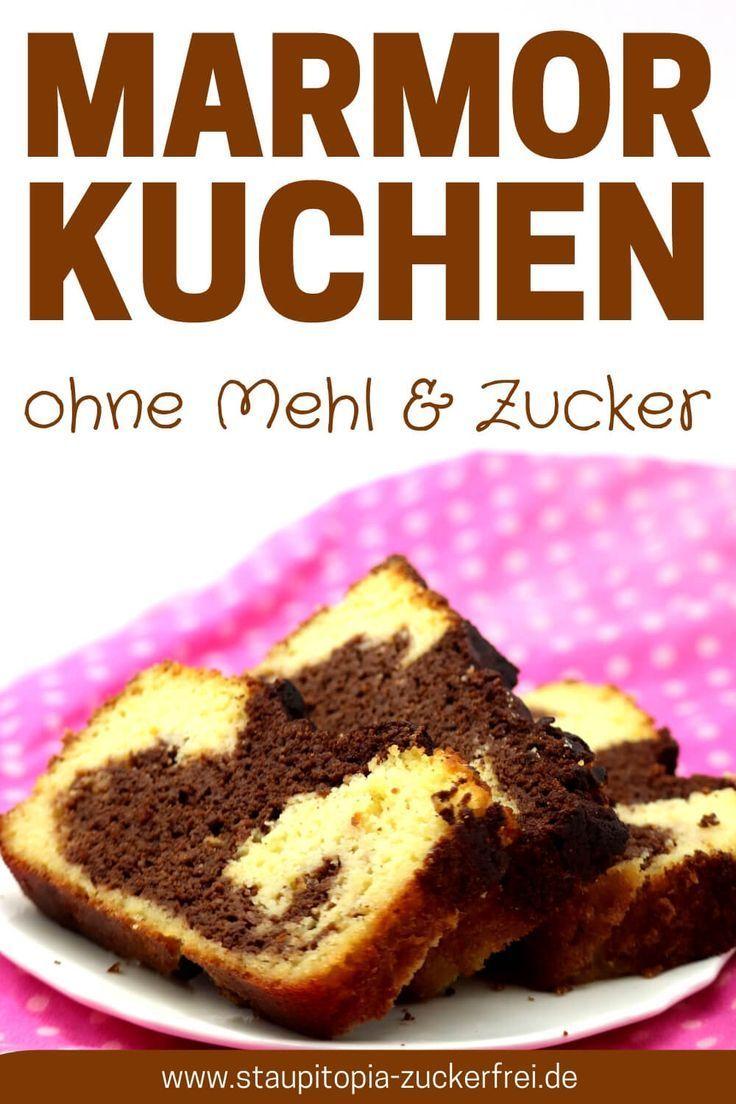 Low Carb Marmorkuchen mit Kokosmehl - Staupitopia Zuckerfrei