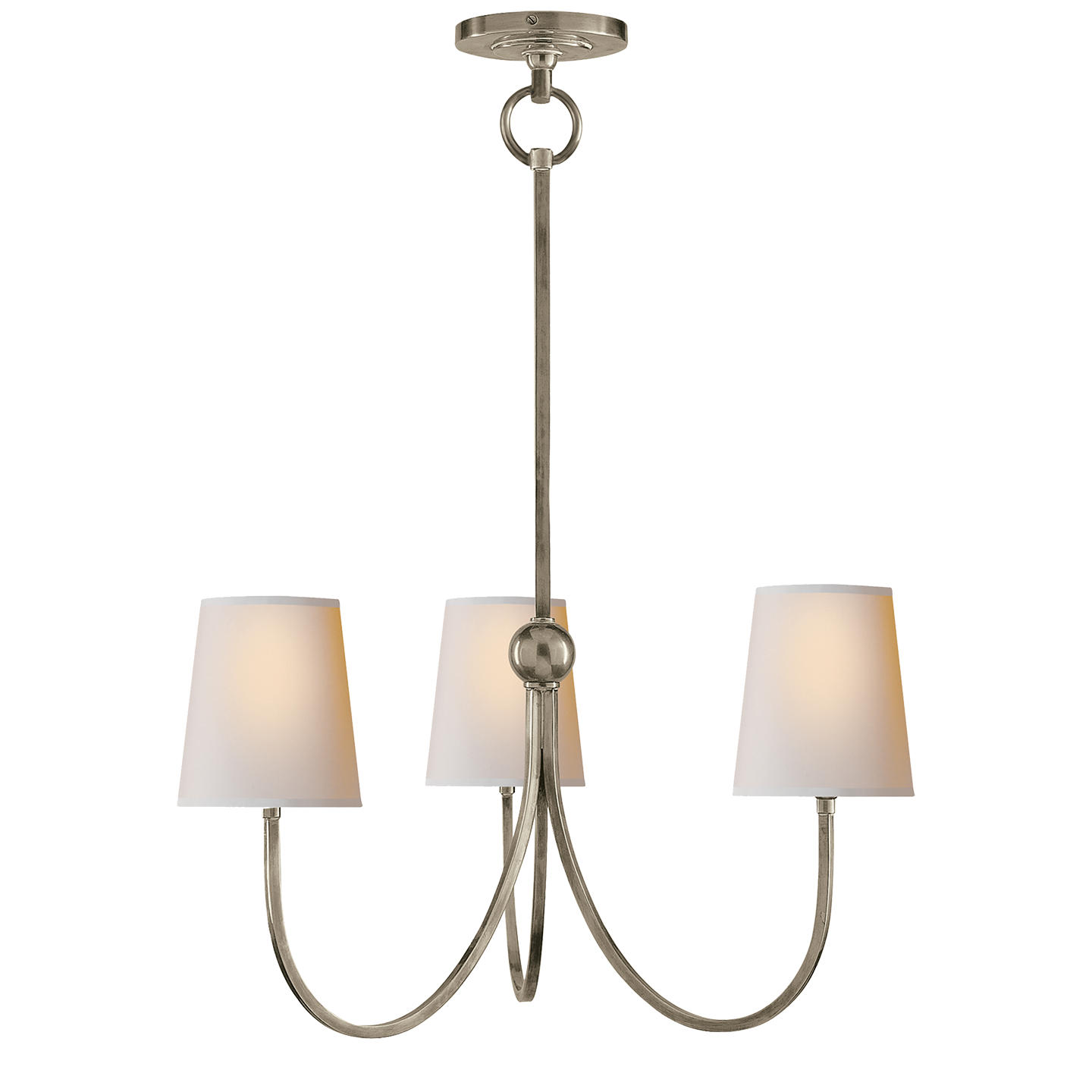 Reed Small Chandelier Small Chandelier 3 Light Chandelier