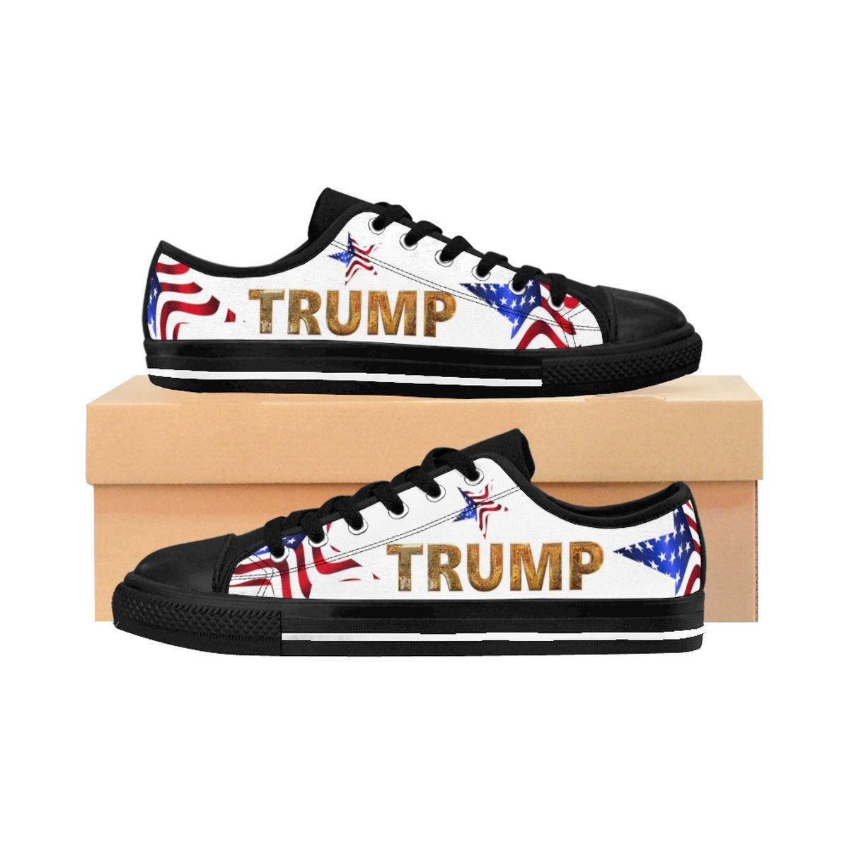 Trump Sneakers Donaldtrump Sneakers Trump2020 Trump Maga Patriotic Patriotic Sneakers Sneakers Mens Tennis Shoes