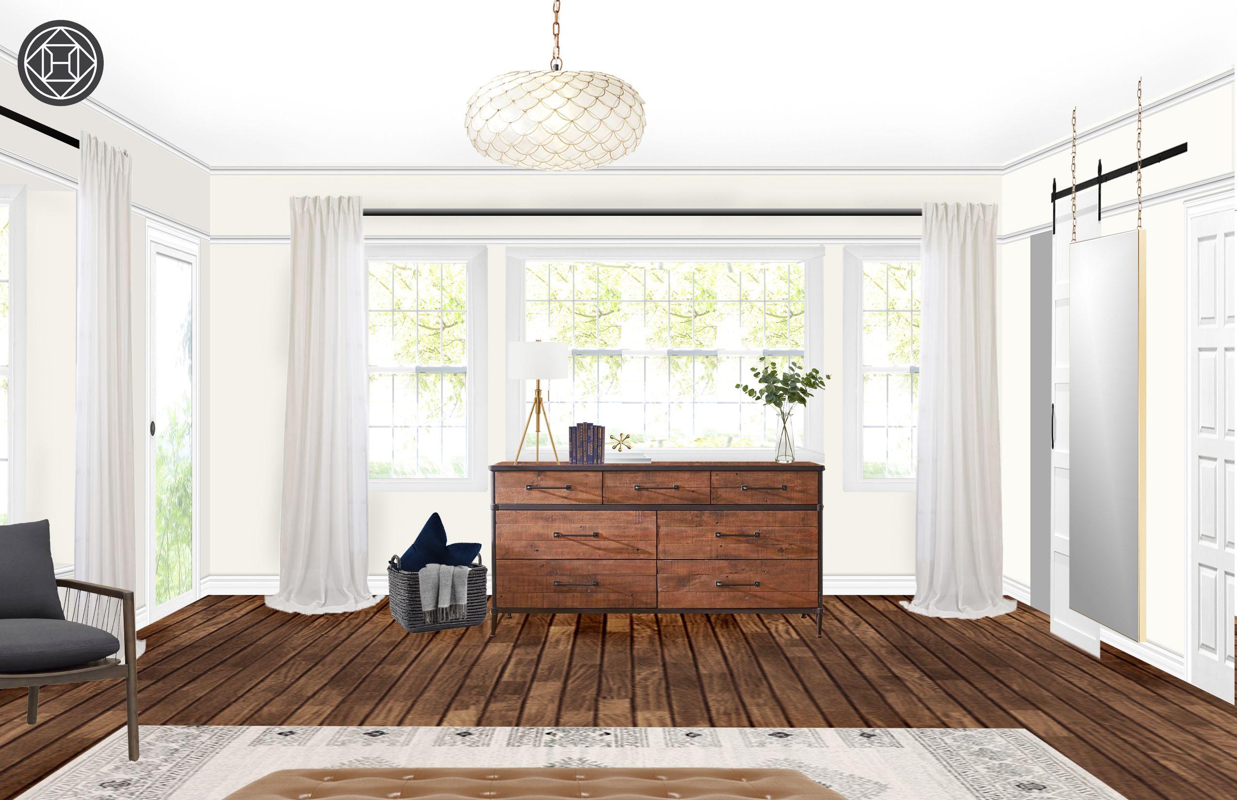 Best Bohemian Industrial Midcentury Modern Bedroom Design By 640 x 480
