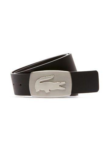 Cinturón de cuero con hebilla cocodrilo LACOSTE Belt  b020c17607f7