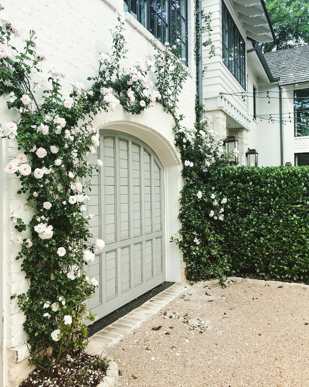 Bm Coventry Gray Garage Door Design Garage Doors White Exterior Houses