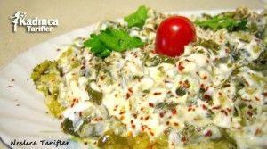 Asma Yaprağı Salatası Tarifi