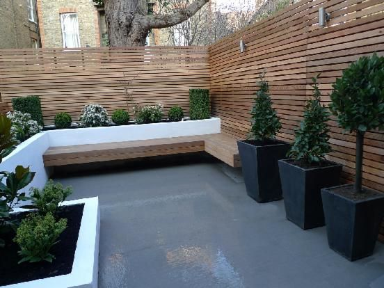 Small Gardens Anewgarden Decking Paving Design Streatham