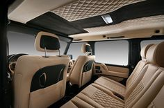 black and gold g wagon interior - G Wagon Matte Black Interior